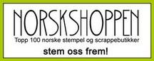 Topp 100 norske stempel og scrapbookbutikker